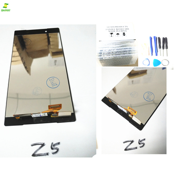 Z5 lcd 5.0 For Sony Xperia Z5 E6603 E6633 E6653 E6683 LCD Display Touch Screen Digitizer Assembly Replacement+Adhesive+Tools