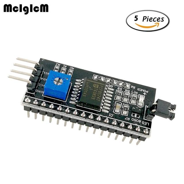 MCIGICM 5 шт. 1602 2004 ЖК-дисплей плиты адаптер IIC, I2C/Интерфейс ЖК-дисплей 1602 I2C ЖК-дисплей адаптер Горячая Распродажа