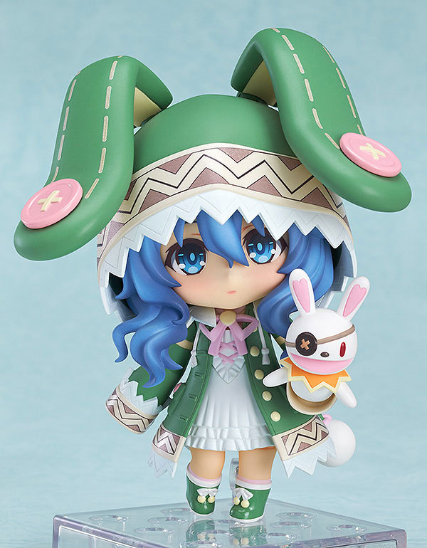DATE.A.LIVE Hermit Cartoon Clay Q Edition Toy Model Dolls figma Lovely Cute Animation can change face Action Figure World GH430