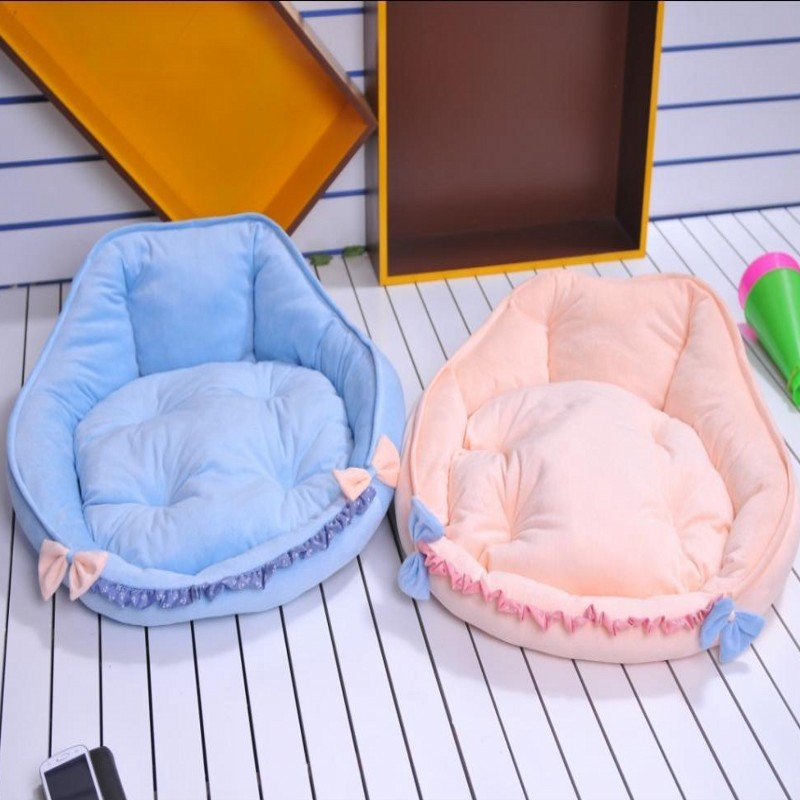 New! Lovely Animal Modelling Pet Waterloo Good Quality Cat/Dog Bed For Winter 2 Color Fr ...