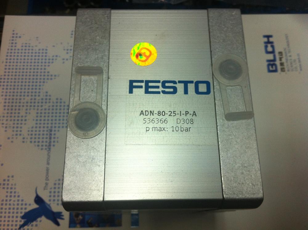 где купить  ADN-80-25-I-P-N FESTO pneumatic cylinder cylinder FESTO original German goods  дешево