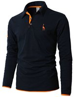 T Shirt Men 2018 Brand Male Long Sleeve Hip Hop Deer Embroidery Print T Shirts Mens