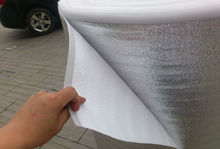 Floor Heating 2mm Thickness Aluminum Foil Reflective Film Width 0.5MX50M/Roll 25M2 For Roof Insulation Moistureproof shockproof