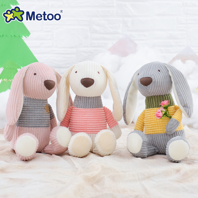 25cm Bear Rabbit Kawaii Stuffed Plush Animals Cartoon Kids Toys for Girls Children Baby Birthday Christmas Gift Metoo Doll kawaii plush stuffed animal cartoon kids toys for girls children baby birthday christmas gift angela rabbit metoo doll