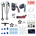 DC12V Universal 2-Doors Electric Power Window Kits with 3pcs/Set Switches & Wire Harness #3884