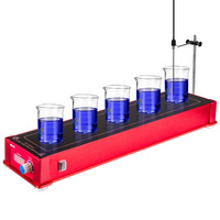 5 Channel chemistry laboratory magnetic stirrer hotplate magnetic stirrer magnetic stir bar agitador magnet