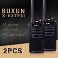 (2 PCS) Black Walkie Talkie UHF 400-470 MHz MINI-Rádio Amador handheld transceiver rádio em dois sentidos comunicador