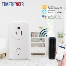 Timethinker Smart Home WiFi Socket AU UK US EU Plug Outlet Work With Apple Homekit Alexa Google Home APP Remote Control