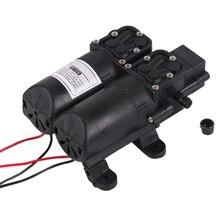 Hot 12V Dual Motor Return Pump, Electric Sprayer Water Pump, Home Garden Boat Caravan Marine Pump, Sprayer Reciprocating цена и фото