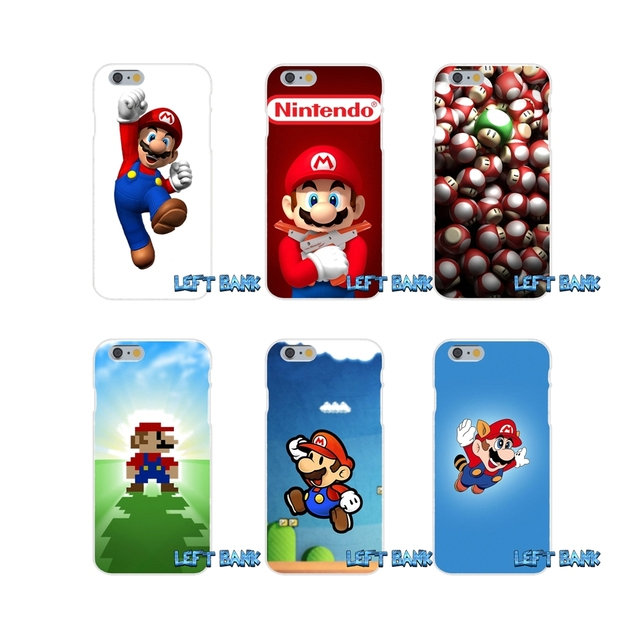 Funny Super Mario Bros Mushrooms Slim Silicone Phone Case For Motorola Moto  G LG Spirit G2