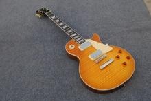 Christmas gift Good sound G-USA  standard  electric guitar Honey color ,big volume ,heavy metal