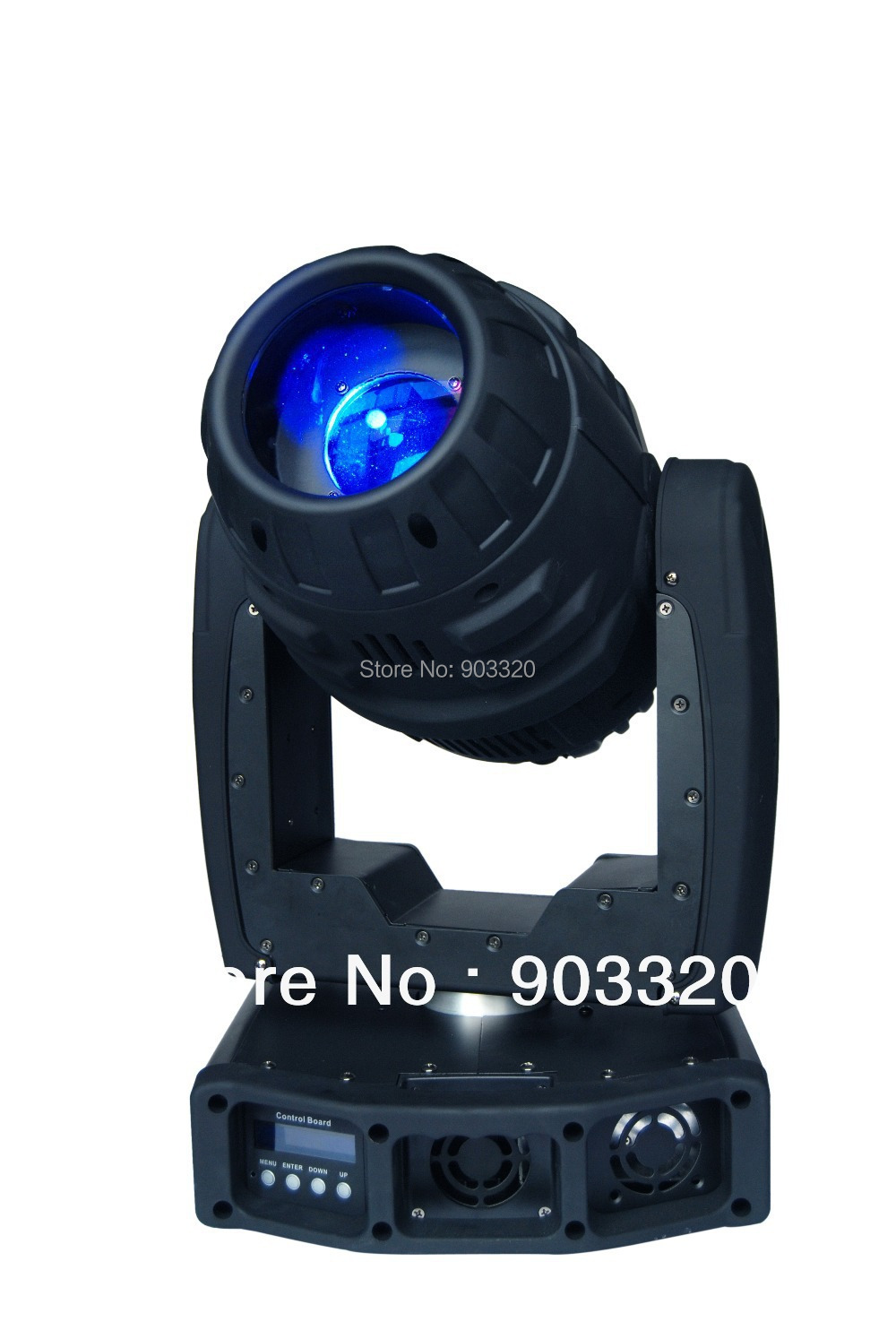 NEW High Power 150W LED Moving Head Spot With Zoom Function 6 1Gobo Rotating 3 Facet