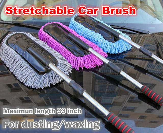 Online Shop Quality Car Waxing Mop Dust Cleaning Brush Anti Static