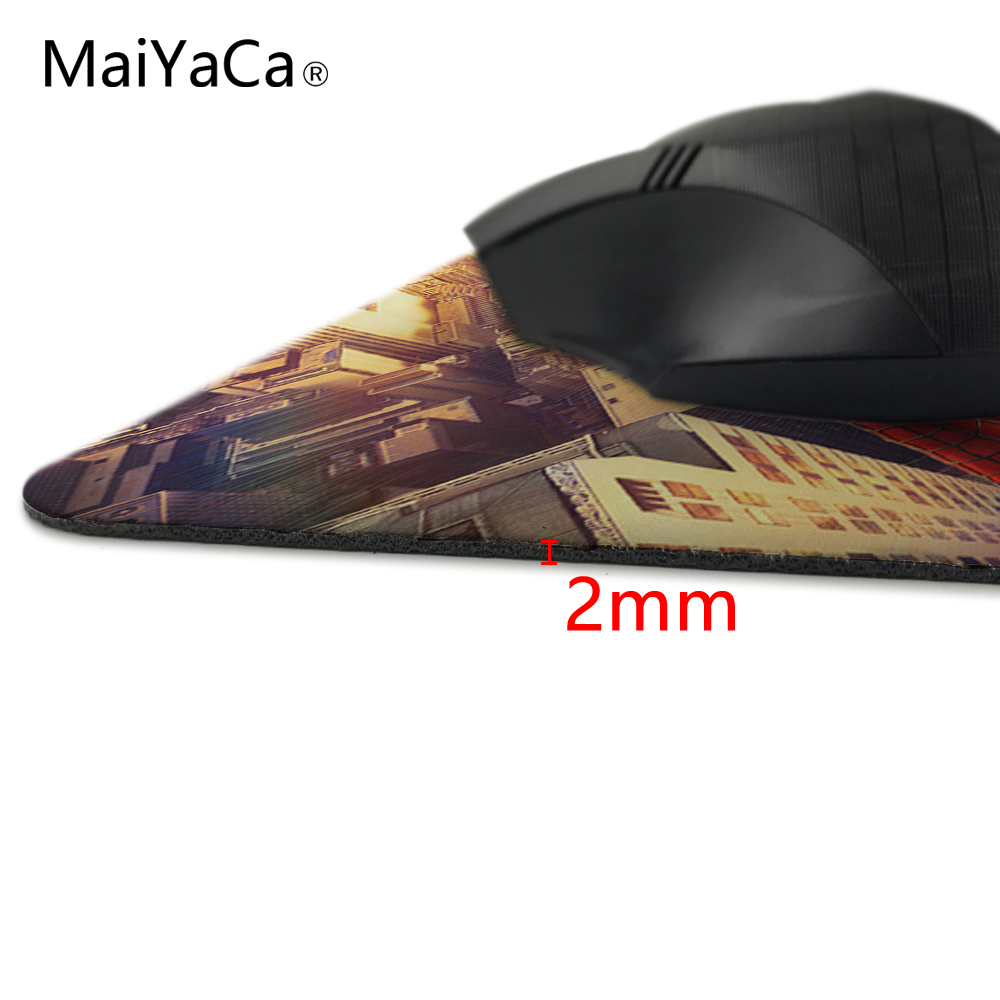 Человек-паук Игры Прямоугольник кремния прочный коврик для мыши 18x22 см и 25x29 см размер Коврик для мыши