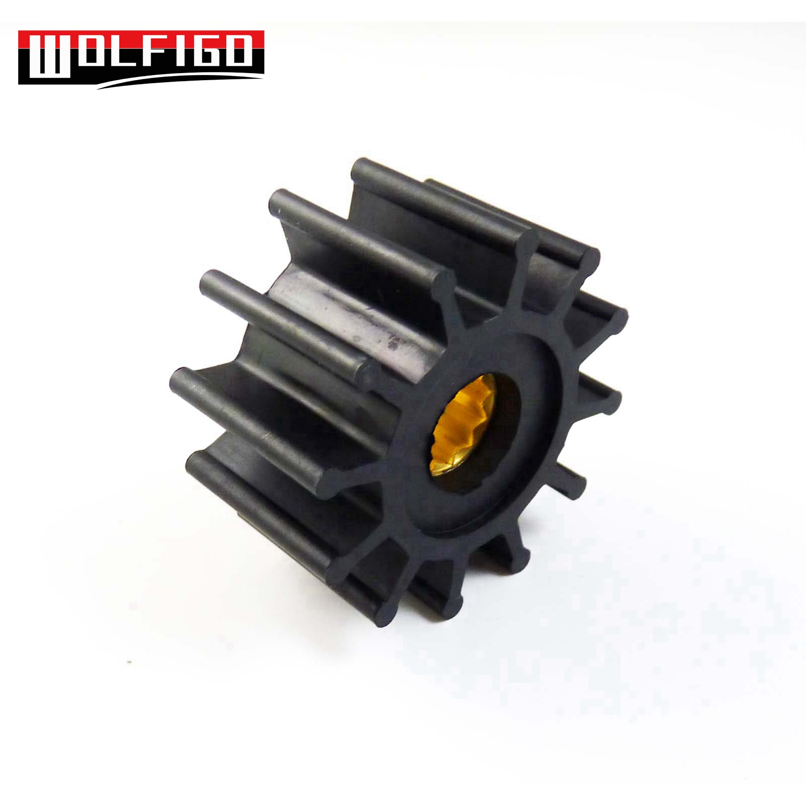 Wolfigo Water Pump Impeller Inboard Engine Cooling For Volvo Penta Aq260 Wiring Harness 825940 860203 3855546 3858256 3862281 21213660