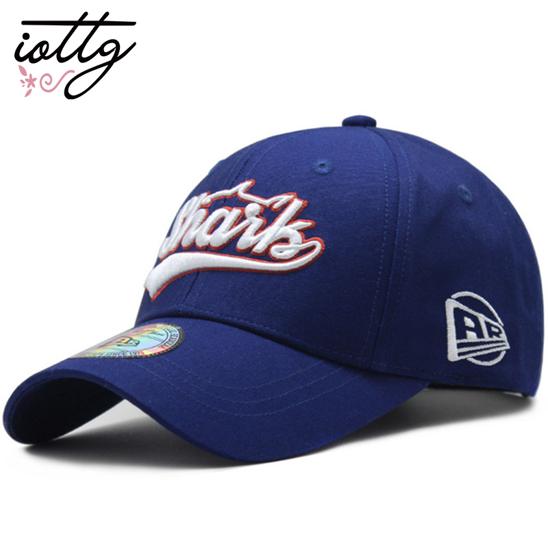 IOTTG 100% Cotton Unisex Letter Embroidery Baseball Cap Summer Fitted Cap Snapback Hat Outdoor Sports Golf Bone Casquette Hats