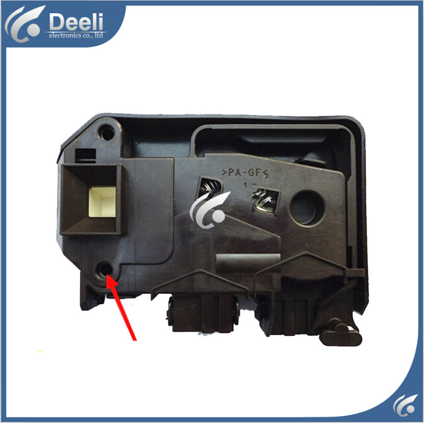 Free shipping Original for Little Swan for Samsung for Midea washing machine Door lock electronic door lock for cylinder for little swan washing machine electronic door lock delay switch tg53 8028d tg70 1028e s