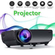 LEORY Smart Portable Mini LED 3D TV Projector Support Full H