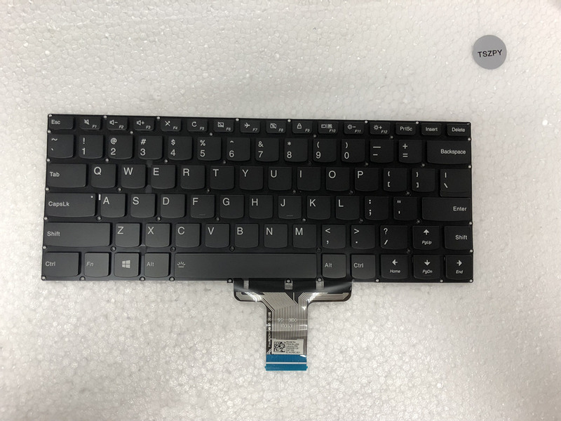 New US keyboard For Lenovo yoga 310S 14ISK 510S 14ISK 510S 14IKB 510 14AST  US laptop Keyboard-in Replacement Keyboards from Computer & Office on