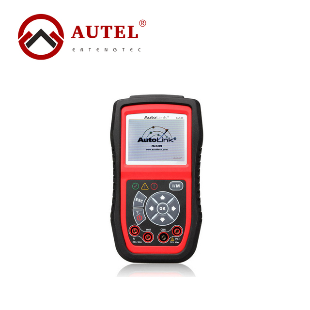 Autel AutoLink AL539 Car Diagnostic Tools OBD2 OBDII CAN Scan Tool OBD 2 Scanner Internet Update