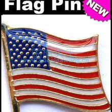 National Flag Metal Lapel Pin Flag Pin America USA