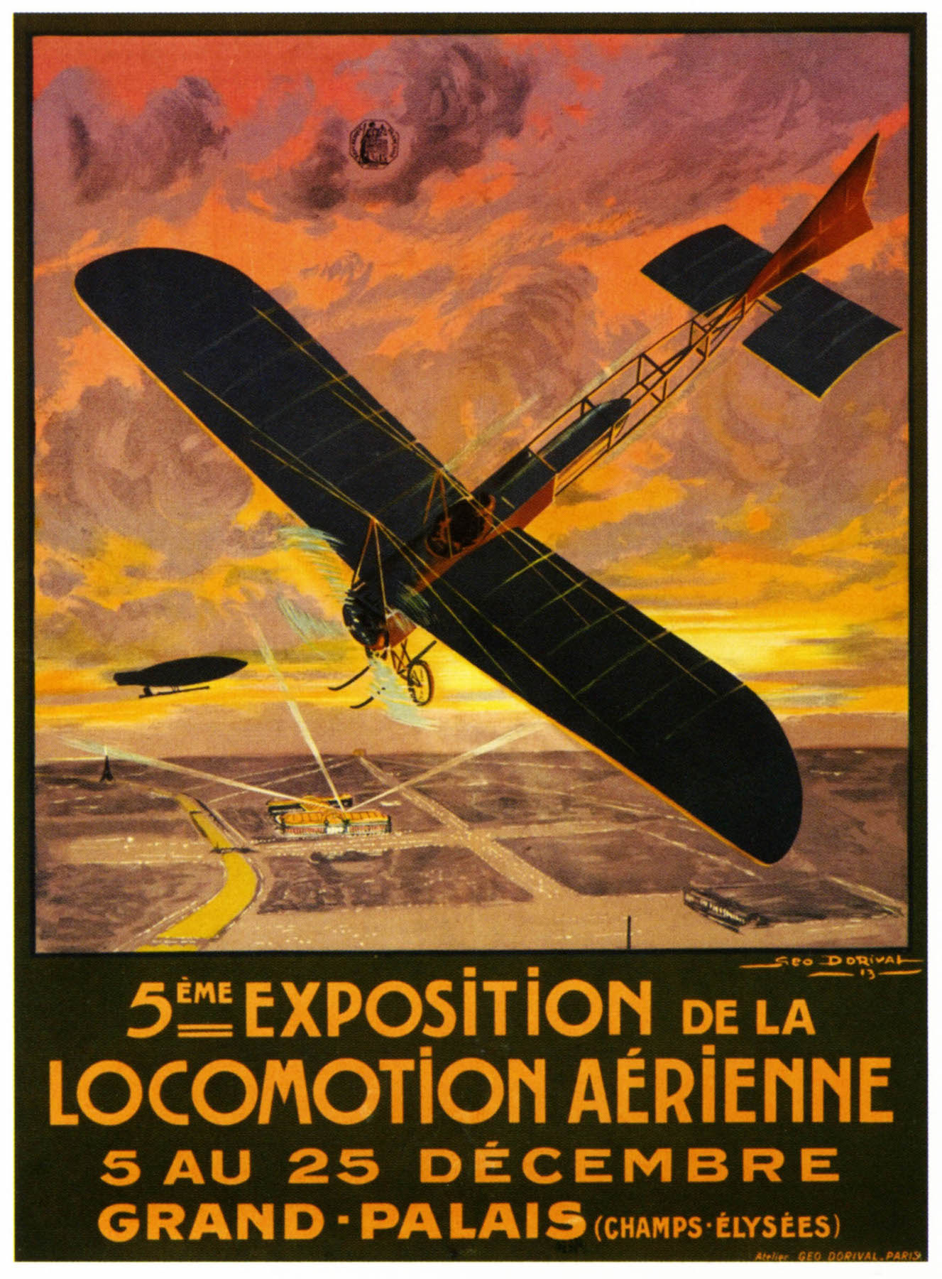Vintage Advertising Poster Airplane Aviation Exhibition Classic Canvas Paintings Vintage Wall Posters Stickers Home Decor Gift