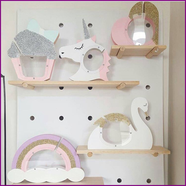 Compare prices on wood unicorn online shopping buy low for Unicorn bedroom decor