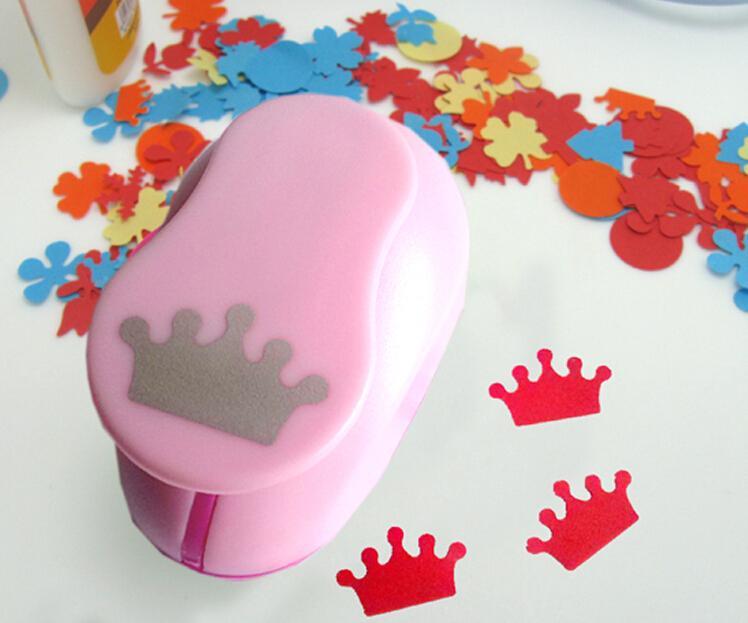 1'' Crown Paper Cutter Scrapbooking Punches Paper Punch Eva Foam Punch Child Diy Craft Punch Scrapbook S293714