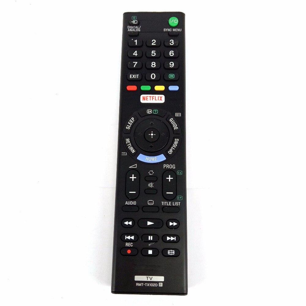 NEUE Echte Original FÜR SONY RMT-TX102D RMTTX102D TV Fernbedienung Für KDL-32R500C KDL-40R550C KDL-48R550C Fernbedienung
