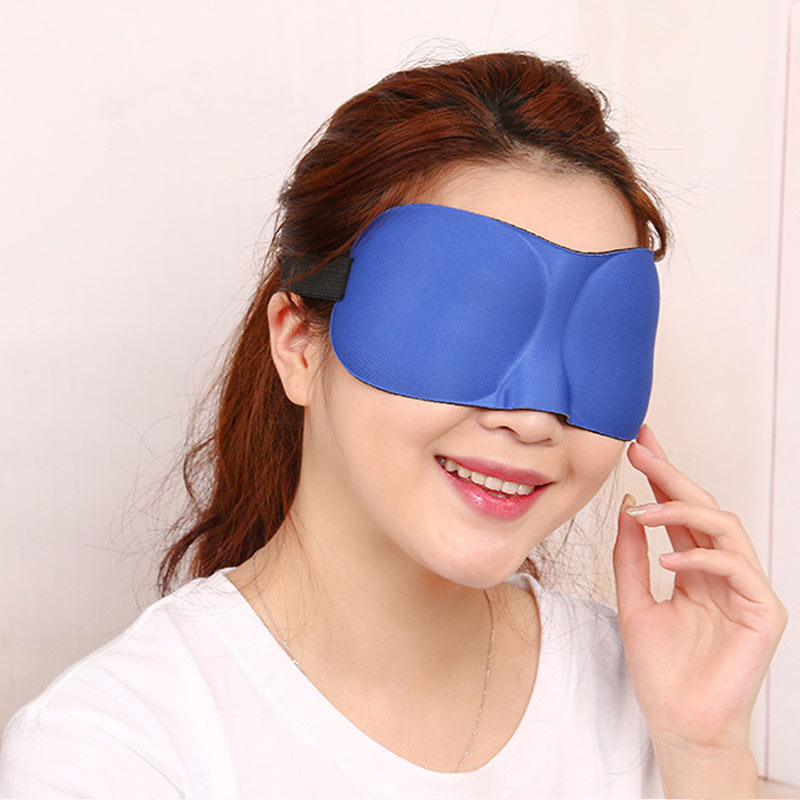 Good Healthy Sleep Blackout Goggles 3D Eye-Patch Fatigue Mitigation Breathable Nerves Cool Goggles