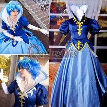 Por Encargo Envío gratis Anime Cosplay Fairy Tail Juvia Loxar Cosplay