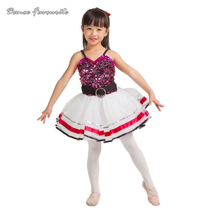 Dance Favourite Sequin top bodice child performance dance costumes, jazz & tap, ballet performance tutu ballerina dance costume