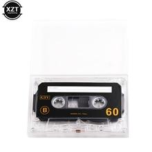1 шт. Стандартный Кассетный пустой магнитофон пустой 60 минут Магнитная аудиолента запись для записи музыки высокого качества