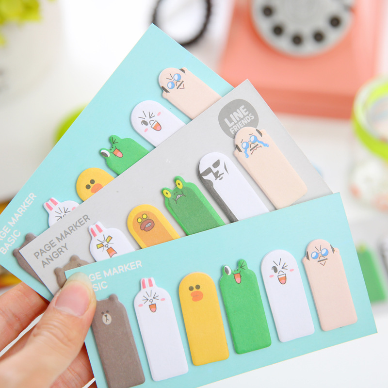 1 PCS Lovely Thumb Expression Novelty Self Adhesive Memo Pad Sticky Note Memo Post Note Gift Stationery