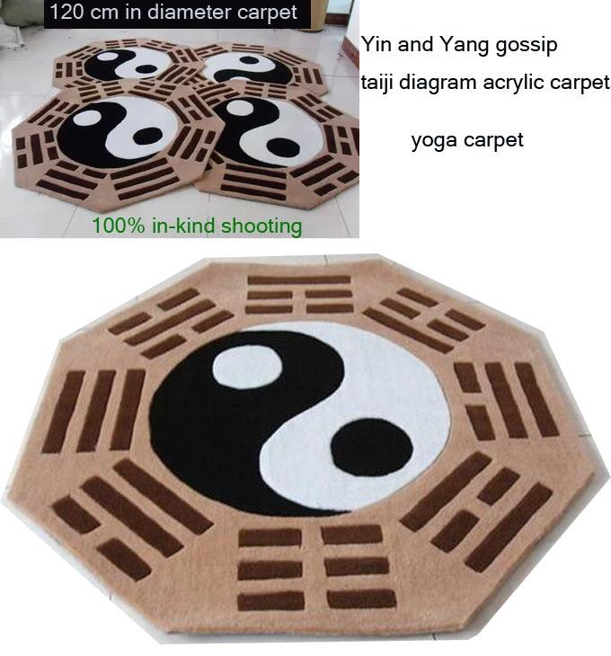 Compra yin yang alfombra online al por mayor de china, mayoristas ...