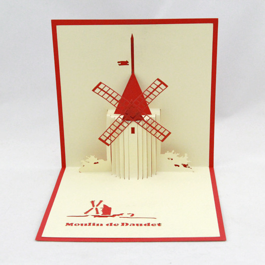 Qubiclife Holland Windmill Architectural Tourism Gifts