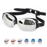 2017 Mới thương hiệu Chuyên Nghiệp Không Thấm Nước silicone kính bơi kính Chống Sương Mù UV đàn ông phụ nữ goggles với box vận chuyển miễn phí