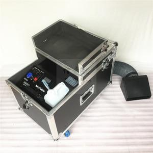 Image 2 - 1 шт./лот, бесплатная доставка, небольшая противотуманная машина на водной базе мощностью 3000 Вт, дымовая машина с туманом и шлангом на выходе