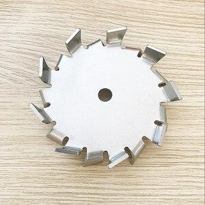 Image 5 - 1 個ラボステンレス鋼分散プレートパドル、分散ディスク分散機の刃で攪拌攪拌ロッド