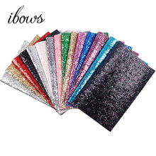 hot deal buy 22cm*30cm  glitter leather fabric shiny laser sequins patchwork diy bag shoes accessories fabric handmade patchwork materials