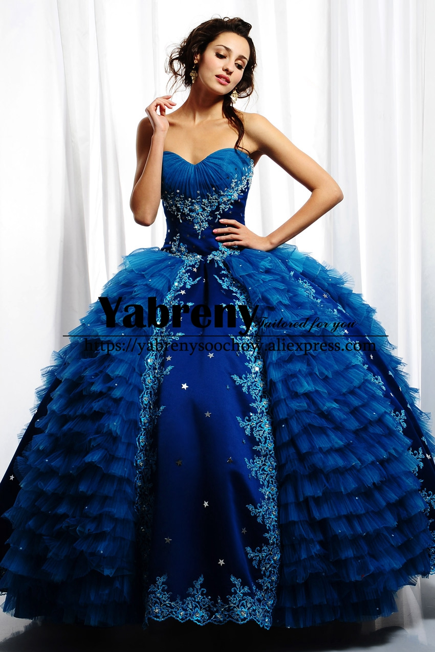 Compare Prices on Ocean Blue Ball Gown Dresses- Online Shopping ...