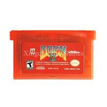 Nintendo GBA Jeu Doom 2 Cartouche De Jeu Vidéo Console Carte NOUS Anglais Langue