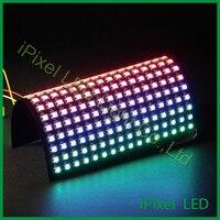 DC5V ws2812b rgb светодио дный pixel матричный гибкие светодио дный дисплей 8x8x32x16x16 32x32