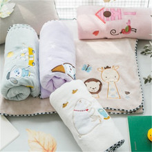 SBB 110x110cm microfiber fabric soft cartoon children bath towel super absorbent Blanket for Commodity Multifunction