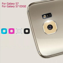NEW Fashion Rear Camera Lens Metal Protective Ring Guard Cover Protector for Samsung Galaxy S7 S7