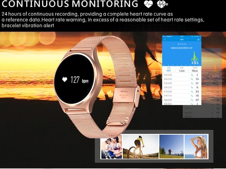 imágenes para Smartch Inteligente Pulsera de la Venda de Reloj de La Presión Arterial Monitor de Ritmo Cardíaco M7 Muñequera Rastreador Podómetro Bluetooth Para iOS Android Hombres