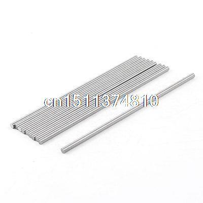 adf6654e293a 10 unids 3mm x 100mm HSS herramienta de ranurado torneado redonda Tornos  barras gris plata
