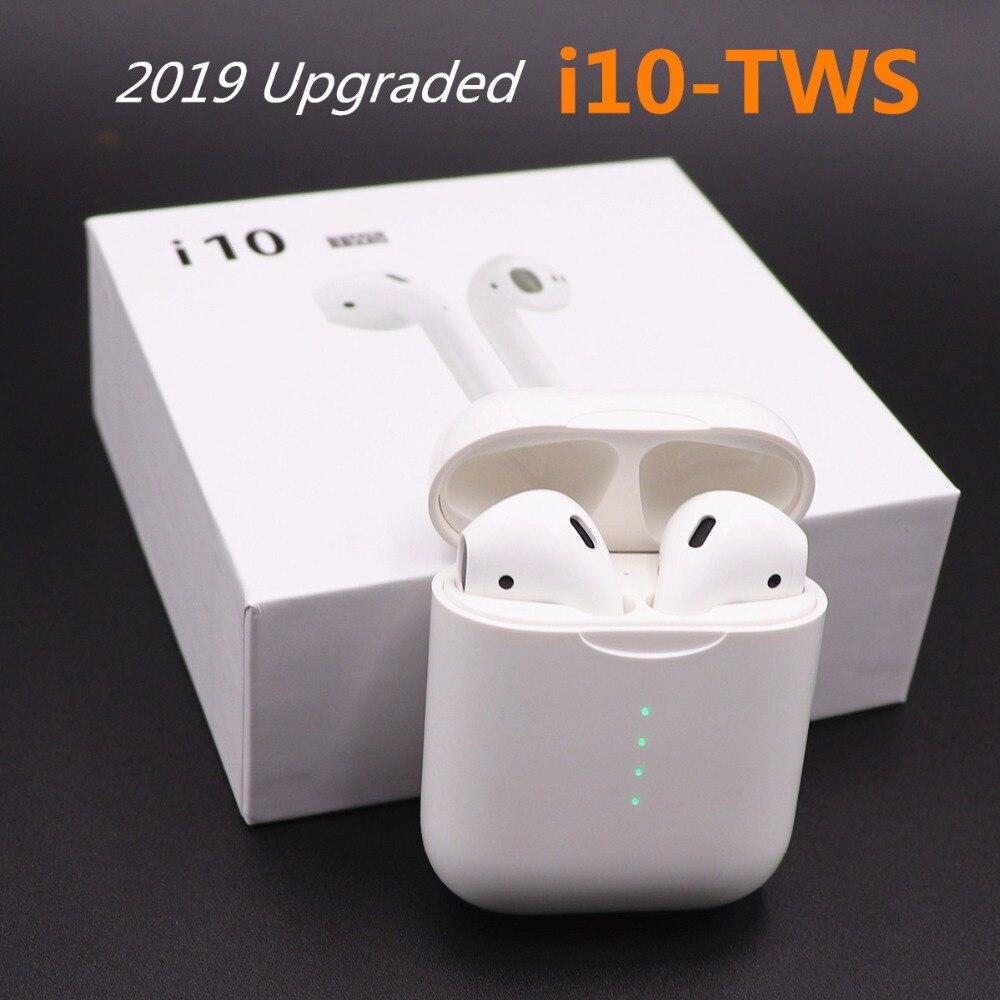 I9s מיני tws/i10s i10 tws אוויר תרמילי אלחוטי אוזניות Bluetooth אוזניות אוזניות אוזניות אוזן תרמילי עבור apple Andorid iphone