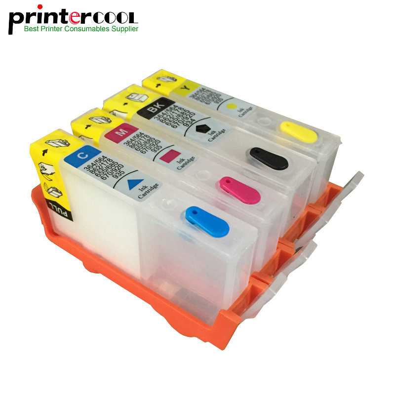 einkshop <font><b>903</b></font> 904 <font><b>Refillable</b></font> Ink Cartridge For <font><b>HP</b></font> <font><b>903</b></font> 904 905 OfficeJet 6950 6956 OfficeJet Pro 6960 6970 Without Chip image
