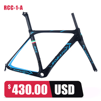 2016 SOBATO New Factory Sale Carbon Road Bike Frame Brand Super Light 700c Full Carbon Frame